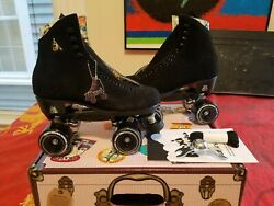 Moxi Lolly Classic Black Roller Skates Size 9 W10-10.5 New. Ready To Ship Now