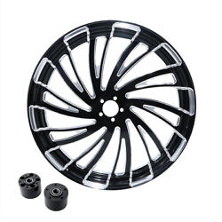 30 X 3.5 Front Wheel Rim Hub Dual Disc Fit For Harley Electra Road Glide 08-21