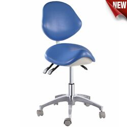 Dental Mobile Saddle Seat Chair Drsandrsquo Doctorand039s Stools Surgery Office Pu Leather