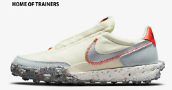 Nike Waffle Racer Crater Coconut Milk Girls Womenand039s Trainer All Sizes