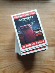 Gremlins 2 Trading Cards - Topps - 1990 - Various