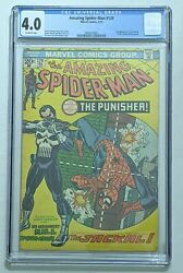 Amazing Spider-man 129 Feb 1974 Marvel Cgc 4.0 1st Appearance The Punisher