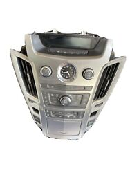 08-09 Cadillac Cts Climate Control Radio Cd Aux Player Panel Oem 20822591
