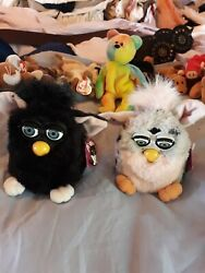 Furby 2, Toy Black And Pink Pair Collectibles Rare