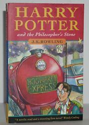 Rare 1st/4th Bloomsbury Edharry Potter And The Philosopher's Stonej.k. Rowling