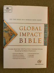 Global Impact Bible, Esv See The Bible In A Whole New Light New
