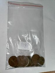 Old Australian Copper Coins Mix Bag Of 20 Vintage/collectable/mystery Bag P183