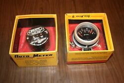 Nos Late 60and039s/70and039s Vintage Auto Meter 9000 Rpm Tachometer Kit. A Rare Find