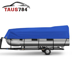 17-24ft Pontoon Boat Cover Peva Waterproof Sun Resistant Shelter Beam 96and039and039/102and039and039