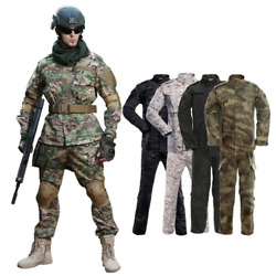 Tactical Suit Camouflage Mens Military Special Forces Soldier Coat+pant Combat