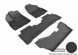 3d Maxpider 2014-2020 Fits Acura Mdx Bench Seat 1st-3rd Row Floor Mat