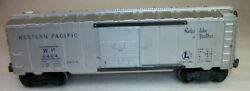 Lionel Postwar 6464-1 Western Pacific Box Car Very Good For The Layout