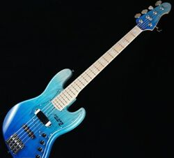 New Atelier Z M-265 Custom Blue Fade/m Mh Electric Bass Guitar From Japan