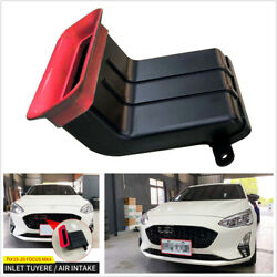 Red Abs 5d Air Inlet Tuyere Intake Filter For Ford Focus Mk4 Hatchback 4d Sedan