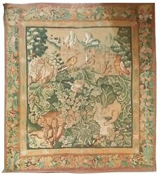 1001 - Hand Printed Cabbage Leaf Tapestry