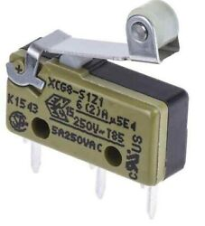 Saia-burgess Microswitches 6a 250vac 0.7n No/nc Roller Lever, Pcb- 1pc Or 200pcs