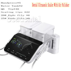 Dental Ultrasonic Scaler With Air Polisher No-pain Perio/scaling/endo Led Light