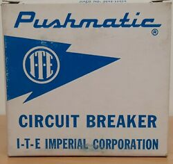 New Pushmatic Ite Breakers 15 20 30 40 50 60 100 Amp 1 And 2 Pole All Sizes