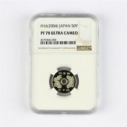 H162004 Japan 50y Ngc Pf 70 Ultra Cameo Highest Graded Population 7