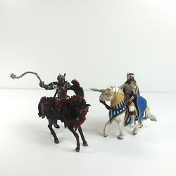 Schleich Black And White Knights And Horses Medieval 2013 2012