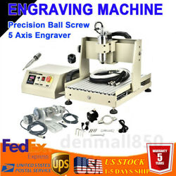 Usb 5 Axis 800w Cnc 3040t Router Engraver Metal Wood Milling Cutting Machine Vfd
