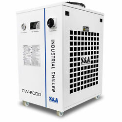 Usa Cw-6000bn Industrial Water Chiller For Solid-state/ Fiber Laser Cnc Spindle