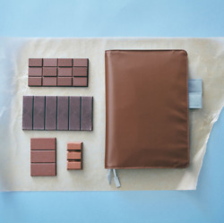 Hobonichi Colors Classic Chocolate A5 Size Cover ONLY AU $49.95