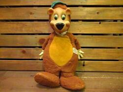 Vintage 50and039s Knickerbocker Huckleberry Hound Yogi Rubber Face Doll 40and039s60and039s