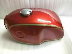 Fuel Petrol Tank With Monza Cap Red Painted Alloy Bmw R100 Rt Rs R90 R80 R75
