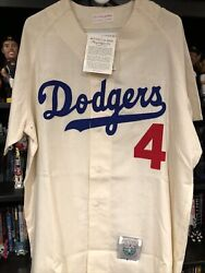 Mitchell And Ness Brooklyn Dodgers Duke Snider Jersey Size Xl