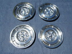 1964 1965 1966 Comet Cyclone Wheelcovers Ford Falcon Xy Xw Xr Gt Gs Hubcaps