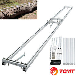 Aluminum Rail Mill Guide System 9 Ft 3 Crossbar Kits Work Chainsaw Mill Guide
