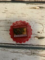 YANKEE CANDLE Wax Tarts RED BERRY amp; CEDAR Discontinued HTF