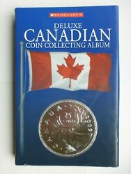 Album Canadian Coin Collecting + 28 Canadian Coins
