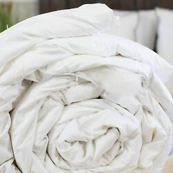 Silk-filled Duvet Spring/fall 9 Tog. Luxury Hand-finished All Bed Sizes