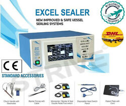 New Electrosurgical 400watt Vessel Sealing Surgical Generator With Touch Display