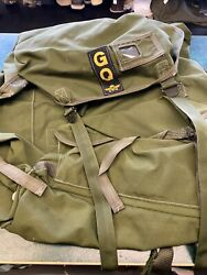 Army Surplus Og Aircraft Survival Pack Type A Mk2 Rucksack