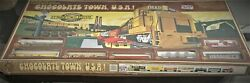 Bachmann Ho Gauge Hershey Chocolate Town Usa Train Set Diesel Freight Ez Track