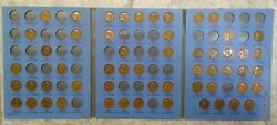 56 Coin 1909-1940 Lincoln Wheat Penny Cent - Early Dates Collection  145