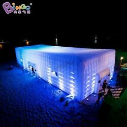 Inflatable 20m Giant Party Tent Oxford Nylon Fabric Big Cube Tent For Sale Toy
