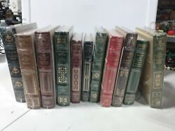 11 The Franklin Library Books Lot New Sealed Grapes Of Wrath, Great Gatsby +