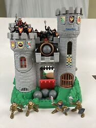 Vintage Fisher Price Great Adventures Castle Playset Bo7110 W/extra Figures