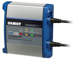 Marinco 2708a Guest 8a 1 Bank 120v Input Battery Charger