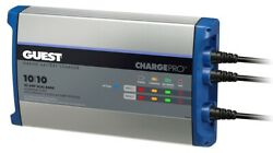 Marinco 2720a Guest 20a 2 Bank 120v Input Battery Charger