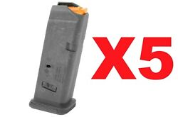 Five Magpul 10rd Mag Fits Glock G19 Mag907-blk Fast Free Same Day Shipping
