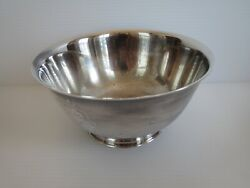 Vintage Paul Revere Reproduction Oneida Silversmith 6 Bowl Silverplate
