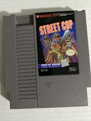 Nintendo Nes Street Cop Video Game Cartridge Authentic Tested Works