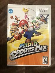 Mario Sports Mix Nintendo Wii 2011complete Tested And Played