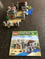 Lego 21121 Minecraft The Desert Outpost 100 Complete Excellent Condition