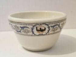 Nyc New York Central Railroad China Dining Car Soup Cup Dewitt Clinton Pattern A